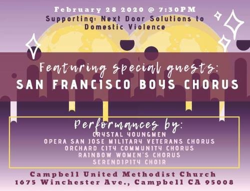 10th Annual Benefit Concert in Campbell!