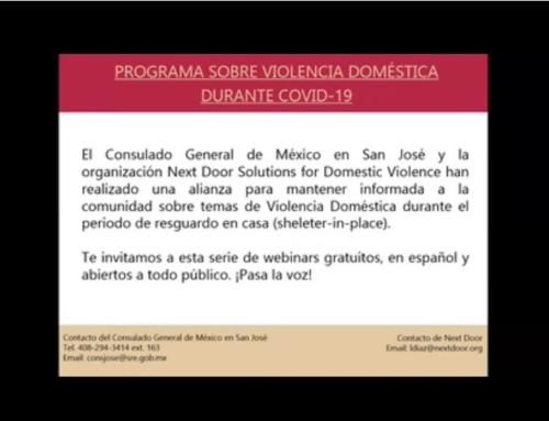 COVID19 Webinar Series – Mexican Consulate