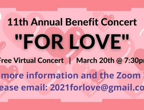 FOR LOVE 11th Annual Benefit Concert