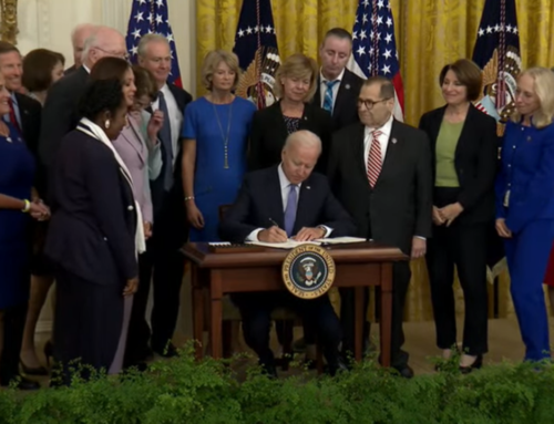 Biden signs Bill to Sustain the Crime Victims Fund Act of 2021
