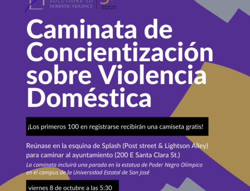 Domestic Violence Awareness Month – October 2021